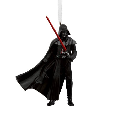 Hallmark Star Wars Darth Vader With Lightsaber Christmas Ornament