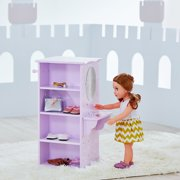 Olivia's Little World - Twinkle Stars Princess Doll Dresser with 3 hangers
