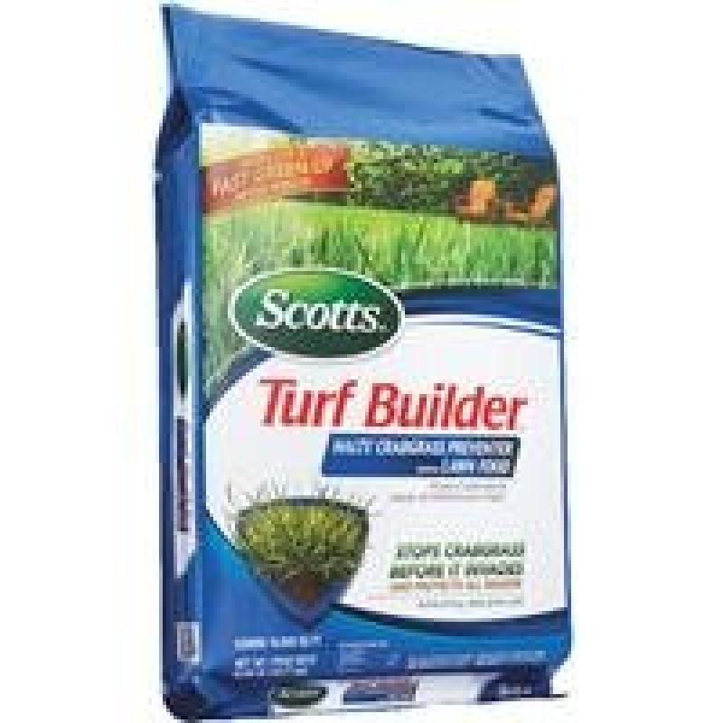 Scotts 15M Turf Builder + Halts 31115 2Pk