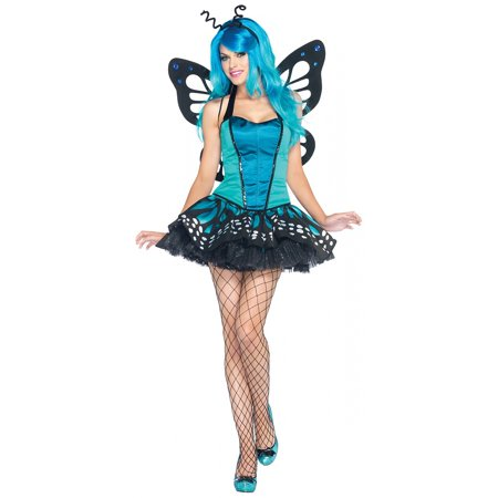 Sexy Butterfly Bustier Tutu Costume Dress Adult (Stores That Sell Tutus)