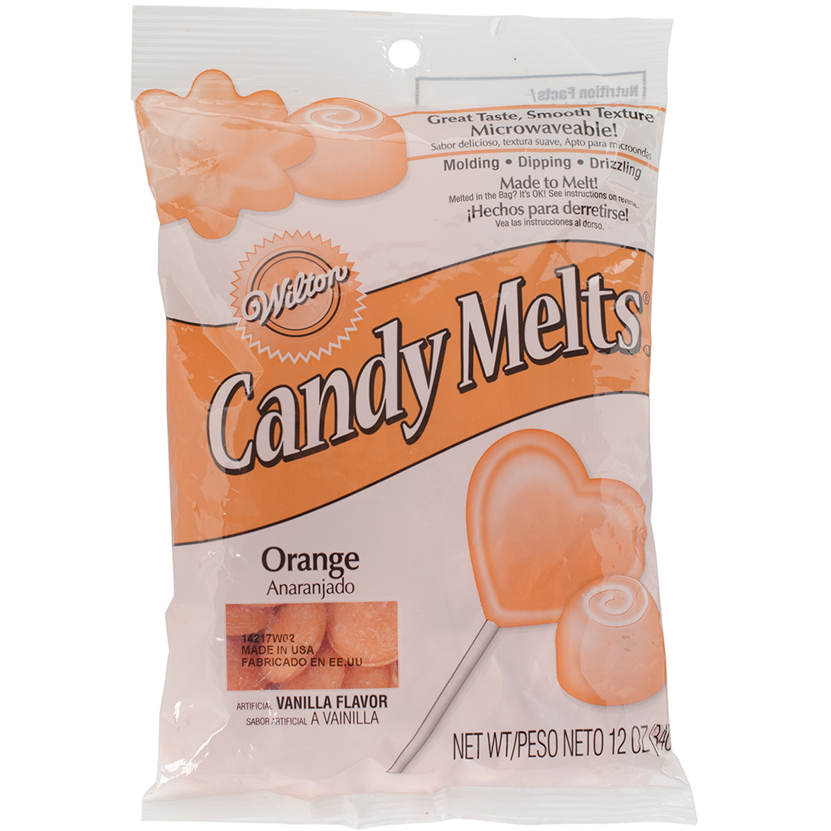 Candy Melts 12oz-Orange