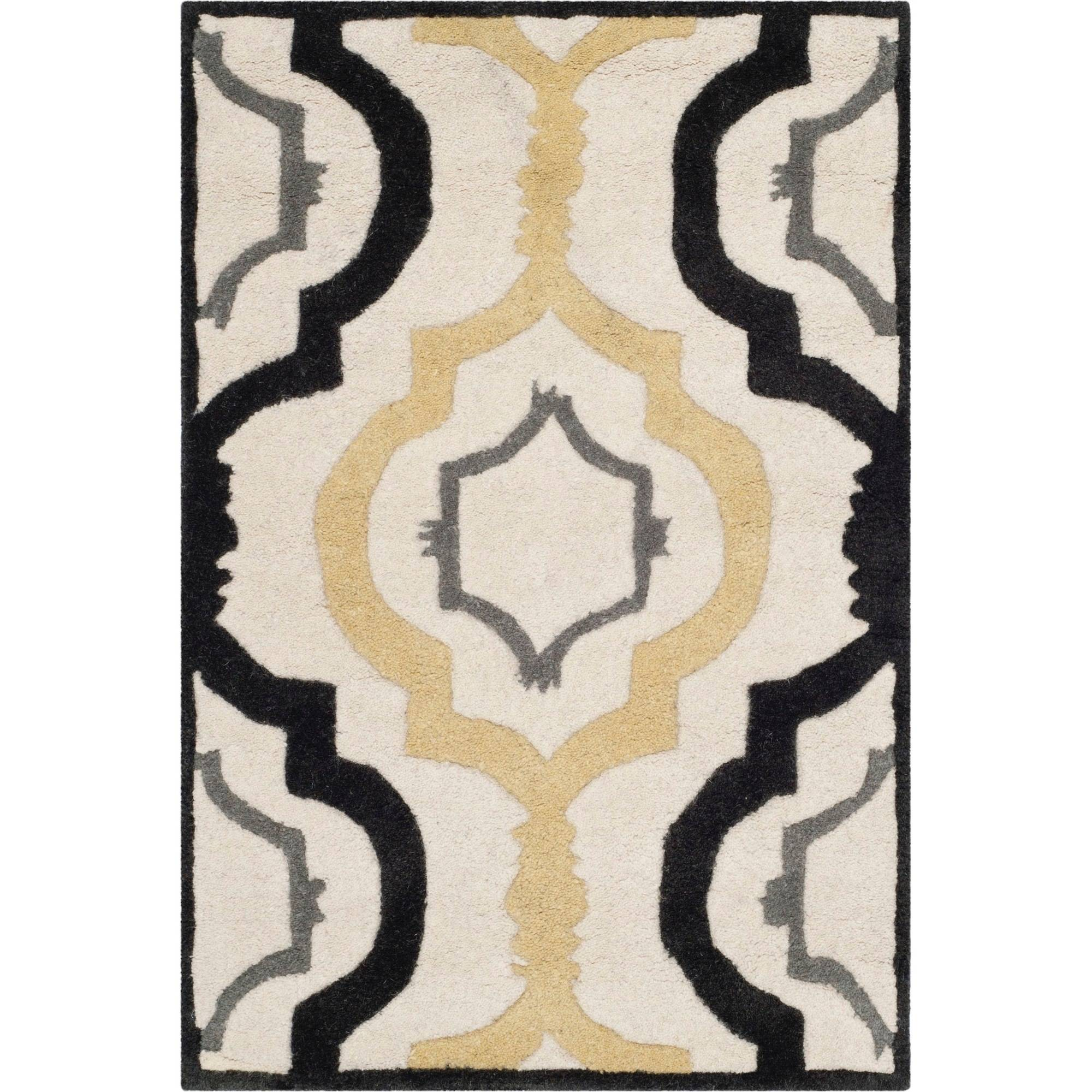 Safavieh Chatham Dylan Hand-Tufted Wool Area Rug, Ivory/Multi