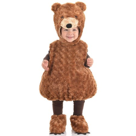 Teddy Bear Toddler Halloween Costume, Size 2T