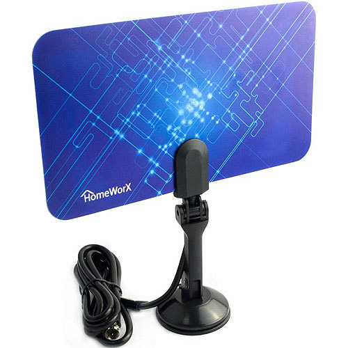 Mediasonic Homeworx HW110AN Super-Thin Indoor HDTV Antenna