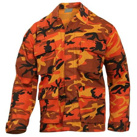 Rothco Color Camouflage Tactical BDU Fatigue (2 Pocket Bdu Shirt)