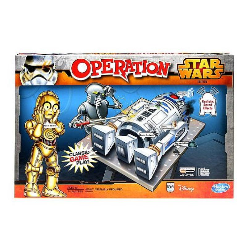 Hasbro Operation Game Star Wars Edition by Hasbro by