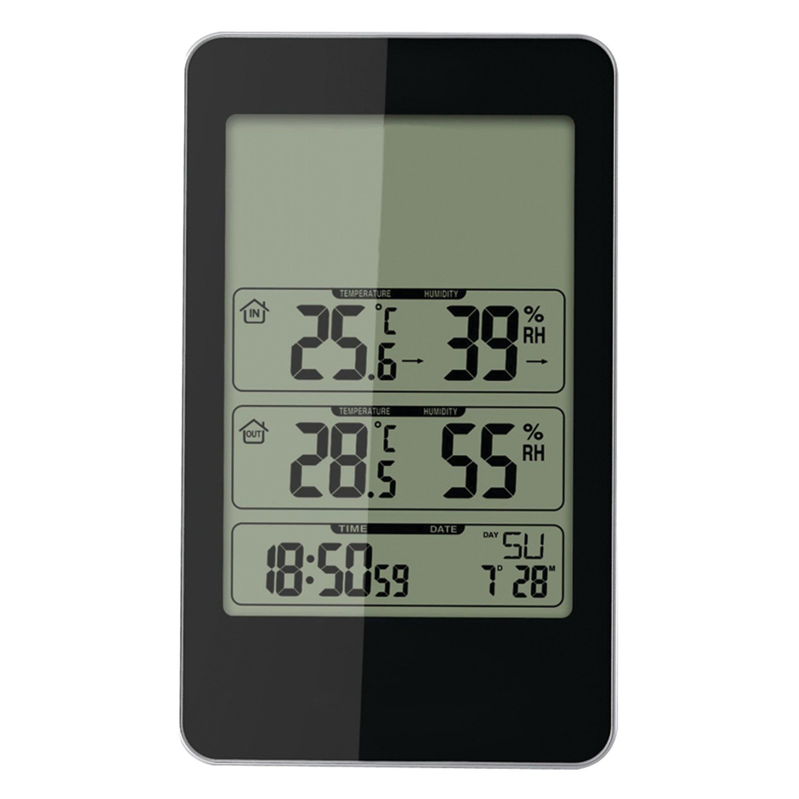TAYLOR 1733 Wireless In Out Thermometer w Barometer G4017085 by TAYLOR(R) PRECISION PRODUCTS