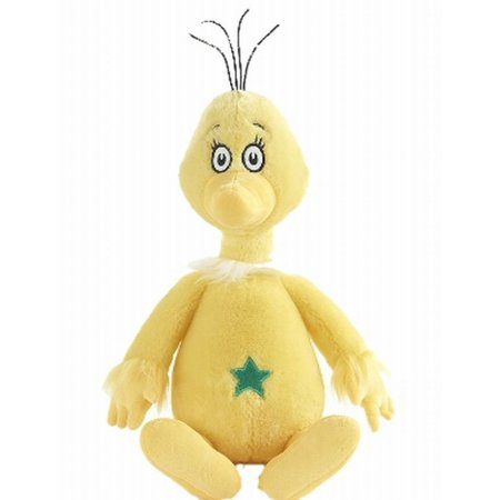 Kohls Cares Yellow Sneetch Stuffed Animal Plush Pal Kohls Cares plush Sneetch from the book,  The Sneetches .  It will make a great plush pal!Kohls Cares Sneetch stuffed animalPlush Sneetch is yellow with a star on his tummySoft plush with embroidered eyesCharacter in Dr Seuss's bookMeasures 11  tallSurface cleanRecommended for all agesBrand is Kohls