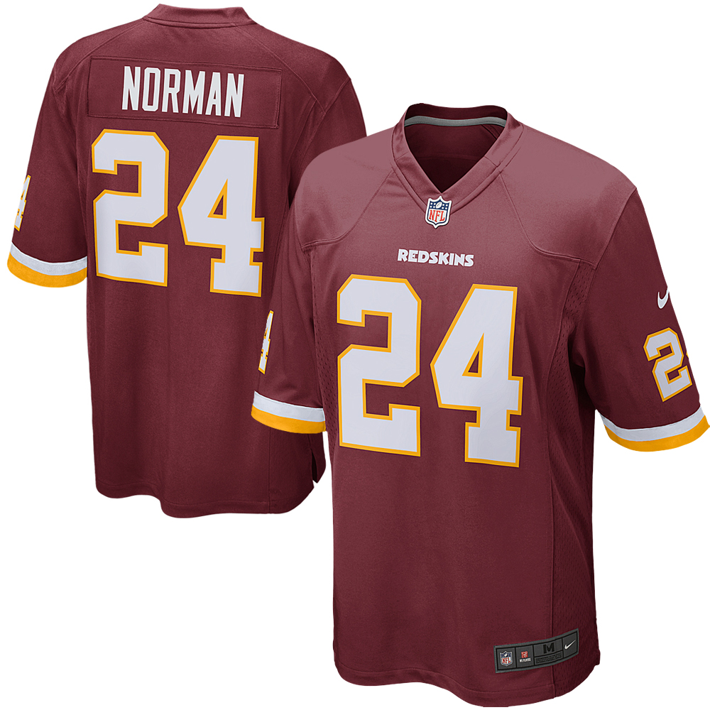 Josh Norman Washington Redskins Nike Youth Game Jersey - Burgundy