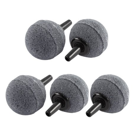 5 Pcs 25mm Ball Shaped Aquarium Air Stone Airstone Bubble Release for Fishbowl - image 2 of 2