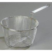 "Carlisle 601003 Fryer Basket 13.5""  Round Chrome"