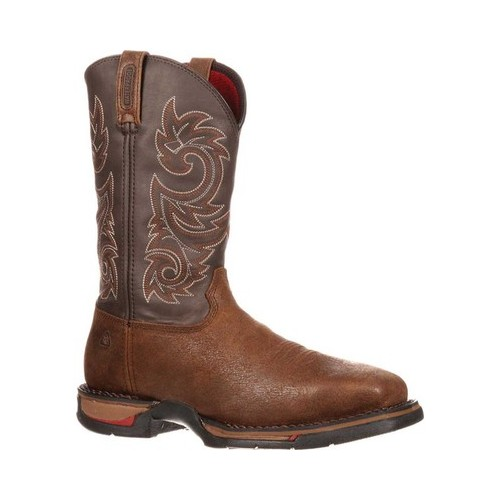 "Men's Rocky 12"" Long Range Western WP Steel Toe 6654 Boot by Rocky"