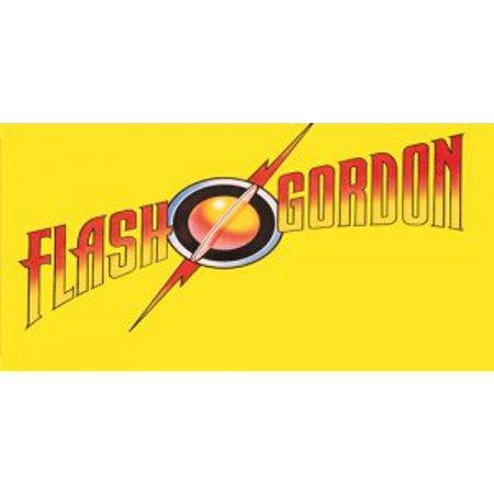 Flash Gordon Logo Photo License Plate