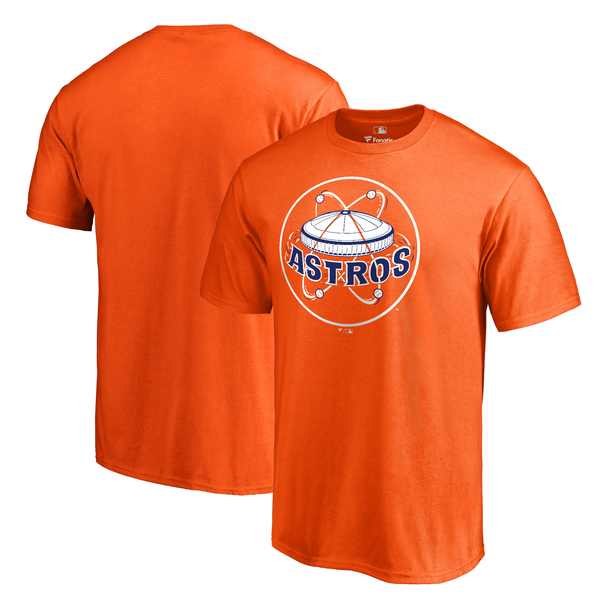 Houston Astros Fanatics Branded Cooperstown Collection Huntington T-Shirt - Orange