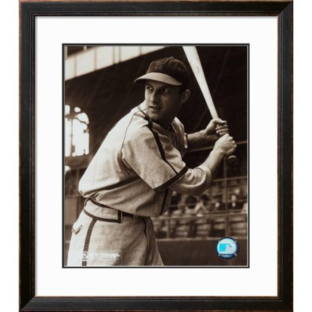 Stan Musial Framed (Stan Musial - Batting Stance Framed Photographic Print Wall Art  -)