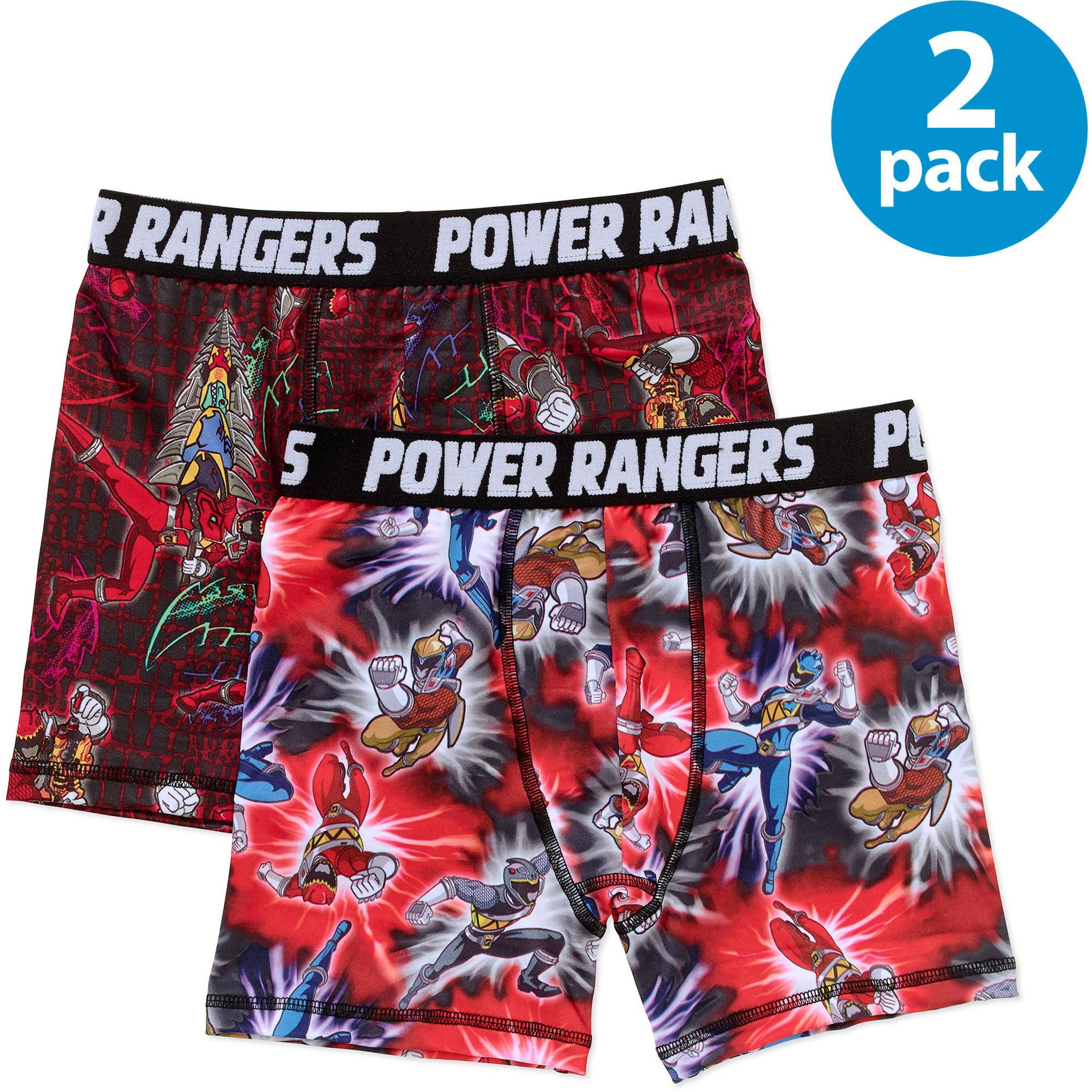 Power Rangers Boys Boxer Brief 2-Pack