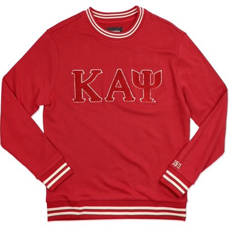 Kappa Alpha Psi Halloween Party (Big Boy Kappa Alpha Psi Divine 9 Crewneck Mens Sweatshirt [Crimson Red -)