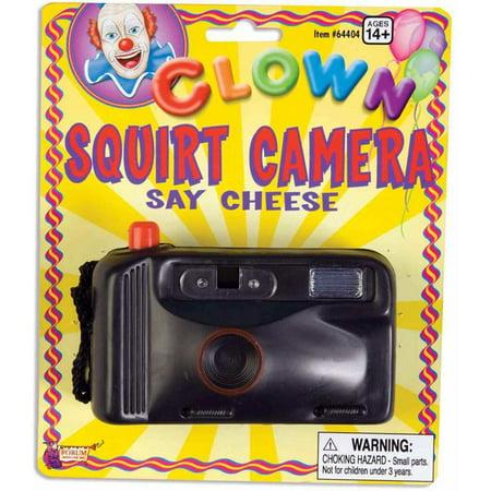 Clown Prank Squirt Camera
