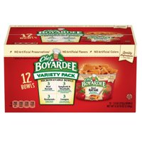 Product of Chef Boyardee Mini Ravioli and Spaghetti & Meatballs Variety Pack, 12 pk.