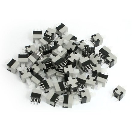 50 Pcs Momentary Action 6 Pins Torch Push Button Switch 8.5x8.5mm - image 1 of 1