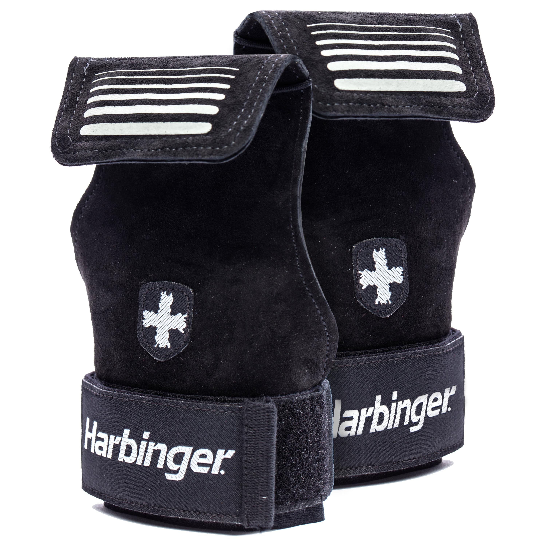 Harbinger Lifting Grips, Black, Small/Medium