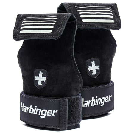 Harbinger Lifting Grips, Black, Medium/Large