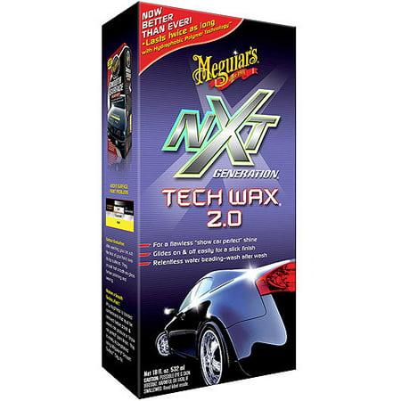 Meguiars G12718 NXT Generation Tech Wax 2.0, 18 fl oz