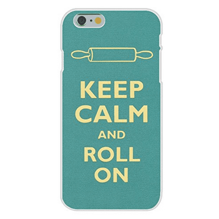 Apple iPhone 6+ (Plus) Custom Case White Plastic Snap On - Keep Calm and Roll On Rolling Pin
