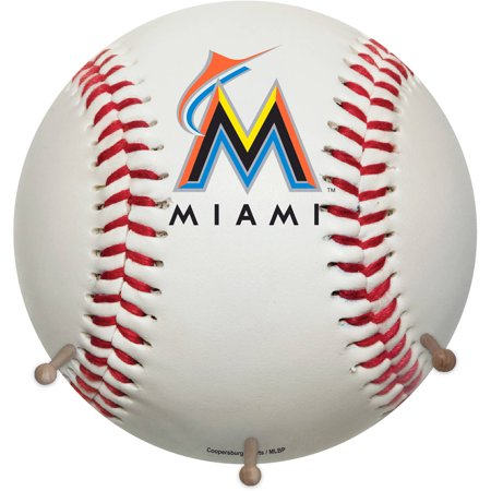 MLB Miami Marlins Baseball Coat Rack by