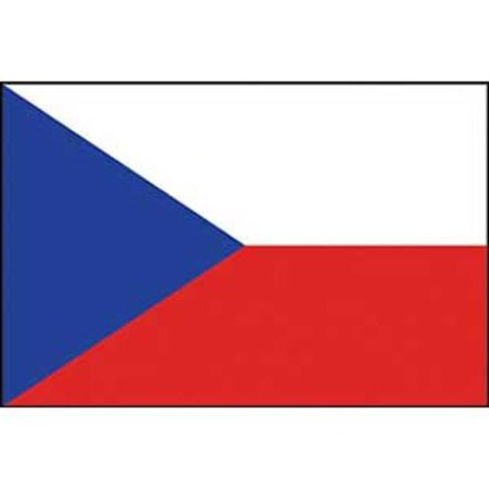 Czech Republic Flag On A Stick 12
