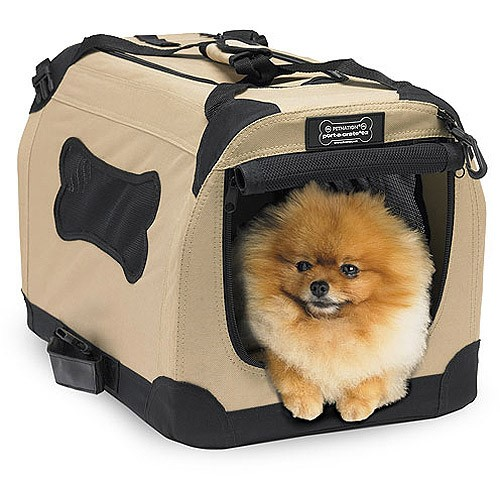 Petnation Port-A-Crate Indoor and Outdoor Home for Pets, 20-Inches