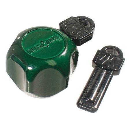 ZORO SELECT 103-501RP Faucet Lock,3/4 In,Zinc