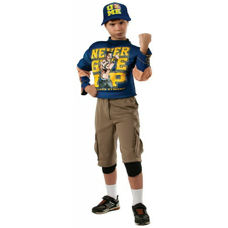 WWE Deluxe John Cena Child Costume](Cena Halloween Ideas)