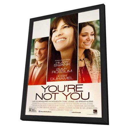 Youre Not You  2014  27X40 Framed Movie Poster