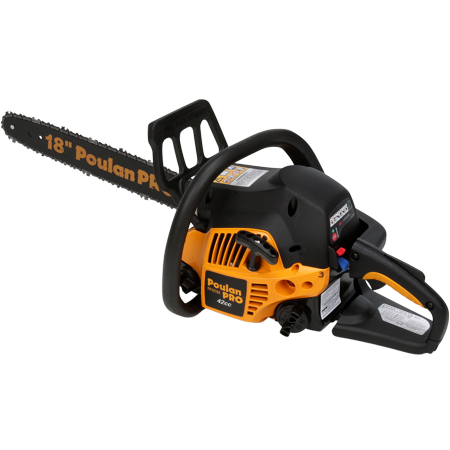 Poulan Pro 18 Inch Gas Chainsaw 42CC 2-Cycle Factory Reconditioned