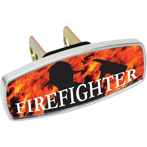 HitchMate Premier Series HitchCap, Firefighter and Flames