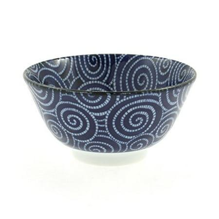 Cobalt Swirl (Japanese 5-1/4