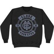 Close Your Eyes Men's  TXHC Sweatshirt Black