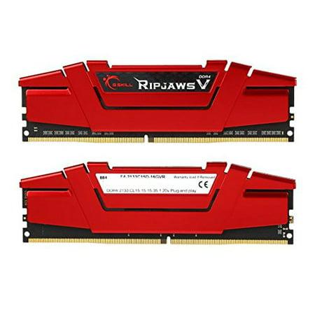 G.SKILL Ripjaws V Series 16GB (2 x 8GB) 288-Pin DDR4 SDRAM 2133 (PC4 17000) Desktop Memory (8gb 288 Pin Ddr4 Sdram Ddr4 2400)