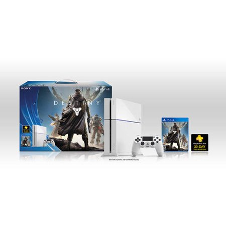Refurbished Sony PlayStation 4 CUH-1115A 500GB Console with Destiny Bundle White