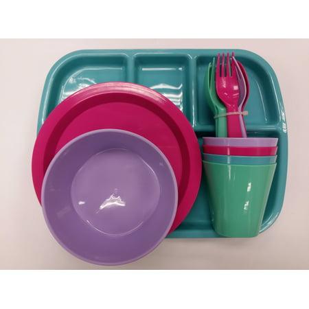 Mainstays Girl's Dinnerware Set, 24 Piece