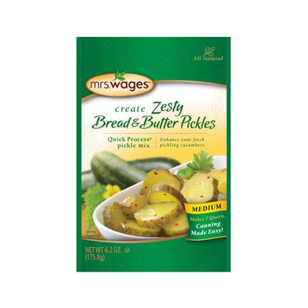 Kent Precision Foods Group W659-J6425 Pickling and Canning Mix, Zesty Bread N' Butter Pickle,