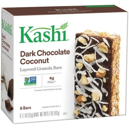 Kashi  Dark Chocolate Coconut Layered Granola Bars 6 Ct Box