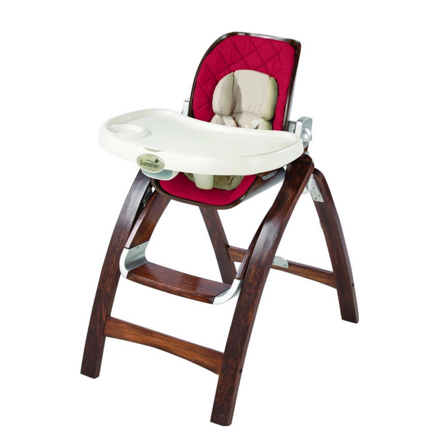 Bentwood High Chair - Cranberry