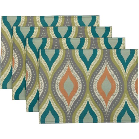 Better Homes And Gardens Ogee 14 X 19 Placemats Set Of 4