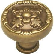 Belwith Bwf106 07 1-.25 In. Knob - Antique Brass