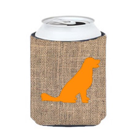 Labrador Burlap And Orange Can Or Bottle  Hugger - image 1 de 1