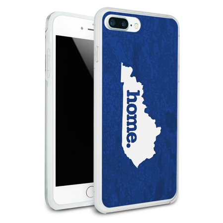 Kentucky KY Home State Protective Slim Hybrid Rubber Bumper Case for Apple iPhone 7+ Plus