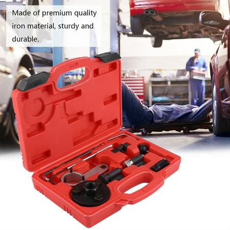 10Pcs Timing Tool Kit Anauto Diesel Engine Timing Locking Tool Fitting Kit for Audi A4 A6 TT Q3 Q5 1.6L 2.0L (Best Oil For Audi A4 2.0 Tdi)