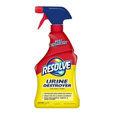 Resolve Urine Destroyer Pet Stain & Odor Remover Spray,